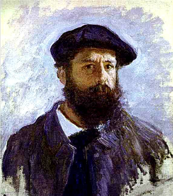Self portrait of claude monet 1886